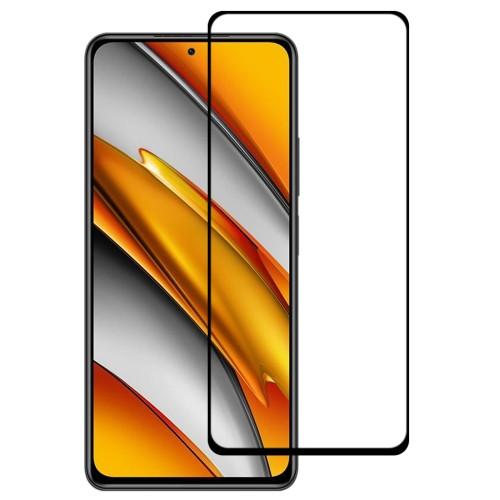 Full Glue Full Screen Tempered Glass Film for Xiaomi Poco F3