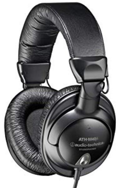 Audio-Technica ATH-M40fs (M40R) Headphones