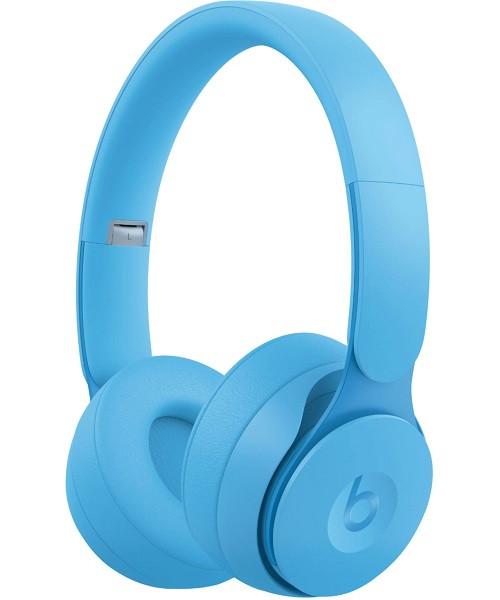 Beats Solo Pro Wireless Noise Cancelling Headphones More Matte Collection Light Blue