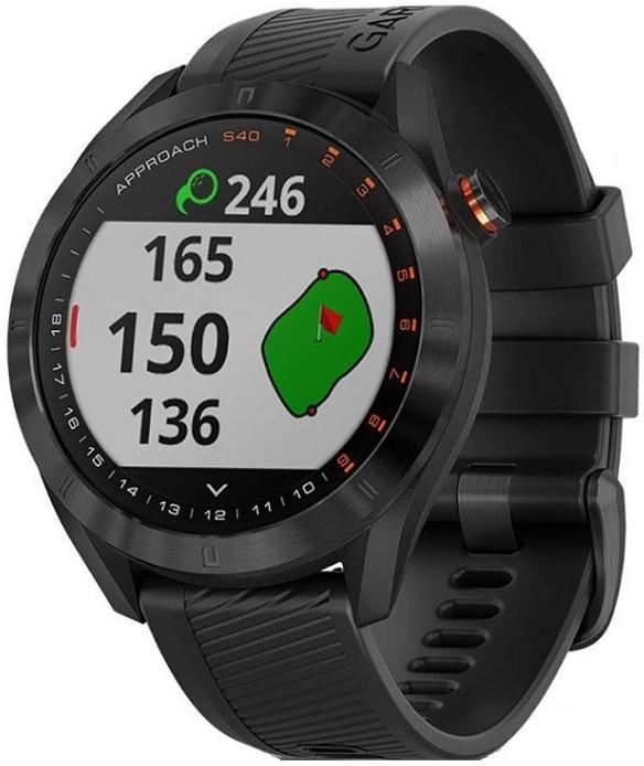 Garmin Approach S40 GPS Golf Watch Black
