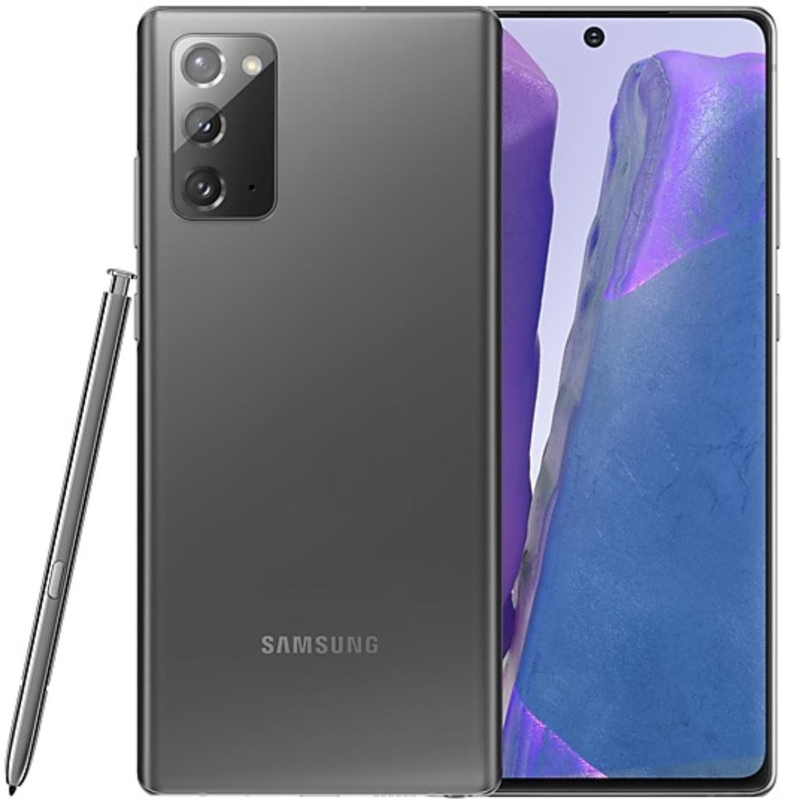 Samsung Galaxy Note 20 4G Dual Sim N980FD 256GB Mystic Grey (8GB RAM)