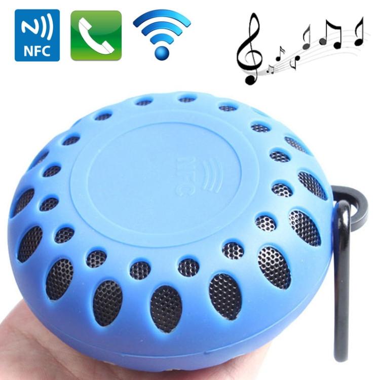 BTS-25OK Outdoor Sports Portable Waterproof Bluetooth Speaker (Blue)