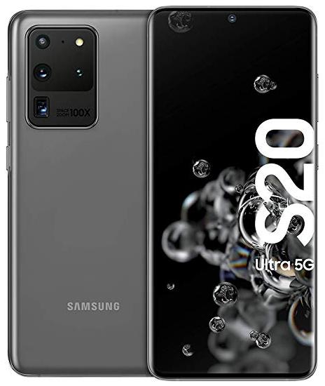 Samsung Galaxy S20 Ultra 5G Dual Sim G988BD 128GB Grey (12GB RAM)