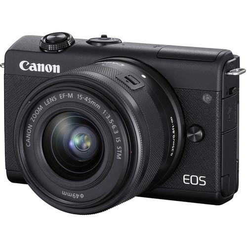 Canon EOS M200 Kit (EF-M 15-45mm f/3.5-6.3 IS STM) Black