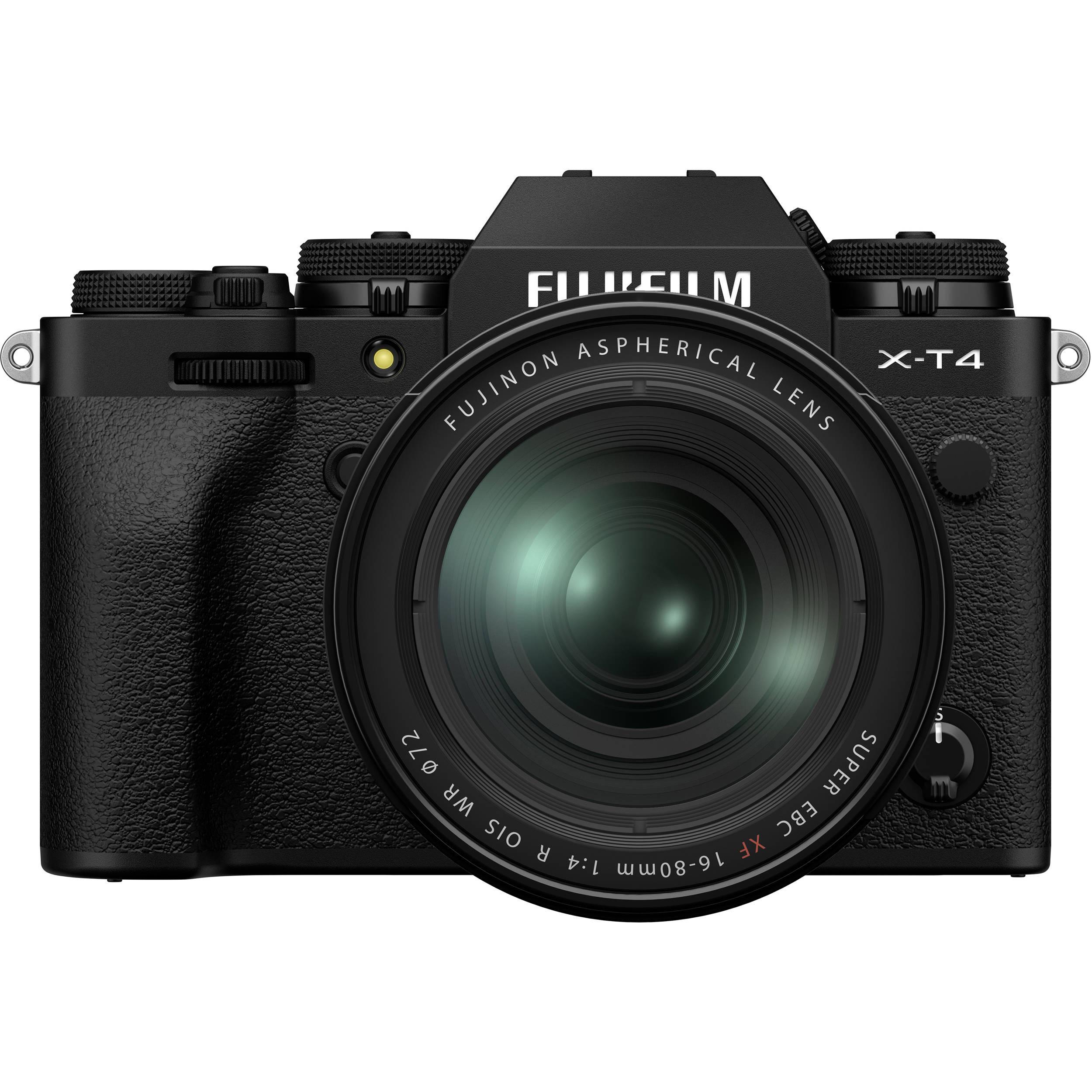 Fujifilm X-T4 Kit (XF 16-80mm f/4 R OIS WR) Black