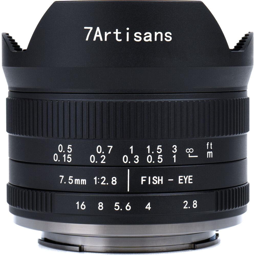 7Artisans 7.5mm F2.8 II APS-C (FUJI X)