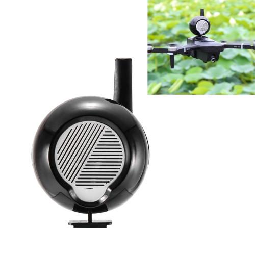 For DJI Mavic Series / Mavic Air 2 Long-distance Interference-free Loudspeaker Drone High-altitude Megaphone with Headset Transmission Alarm Speaker (Black)