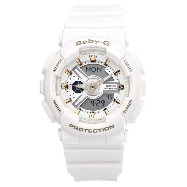 Casio Baby-G BA-110GA-7A1 Women Watch White