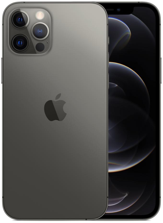 Apple iPhone 12 Pro 5G A2408 Dual Sim 128GB Graphite Grey