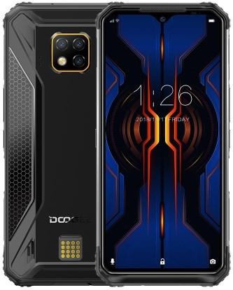 Doogee S95 Pro Rugged Phone Dual Sim 128GB Black (8GB RAM)