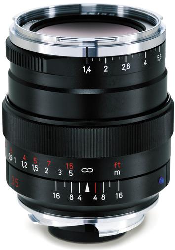 Carl Zeiss Distagon T* 35mm f/1.4 ZM Lens (Black)