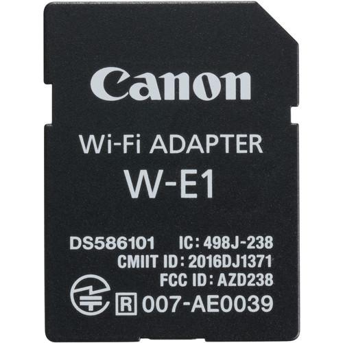 Canon W-E1 Wi-Fi Adaptor