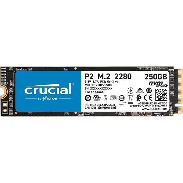Crucial P2 Nvme M.2 250GB (CT250P2SSD8)