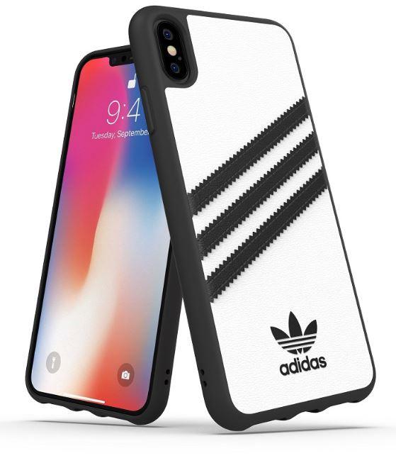 Adidas Iphone X Moulded Back Phone Case White Black