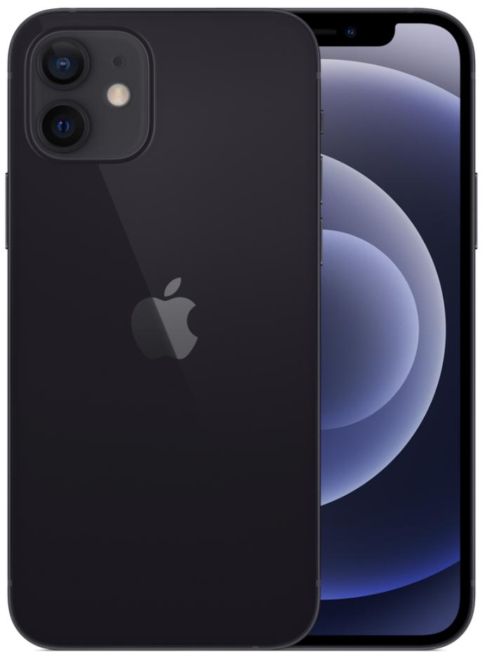 Apple iPhone 12 5G 64GB Black (eSIM)