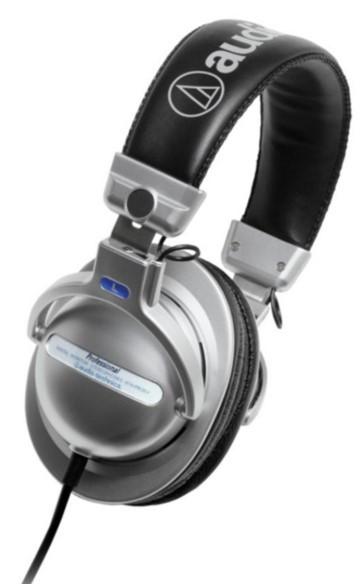 Audio-Technica ATH-PRO5mk2 Silver Headphones