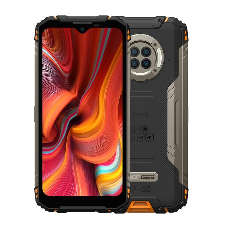 DOOGEE S96 Pro Triple Proofing Phone Dual Sim 128GB Orange (8GB RAM)