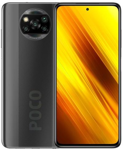 Xiaomi Pocophone X3 NFC Dual Sim 128GB Grey (6GB RAM) - Global Version + FREE Mi True Wireless Earbuds Basic