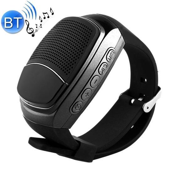 B90 Smart Portable Stereo Wireless Bluetooth V3.0 + EDR Sport Music Watch Speaker(Black)
