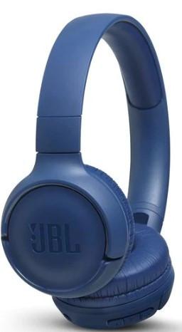 JBL Tune 500BT On-Ear Headphones (Blue)