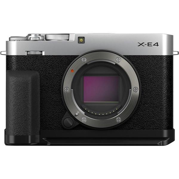 Fujifilm X-E4 Body Silver (with MHG-XE4 Hand Grip)