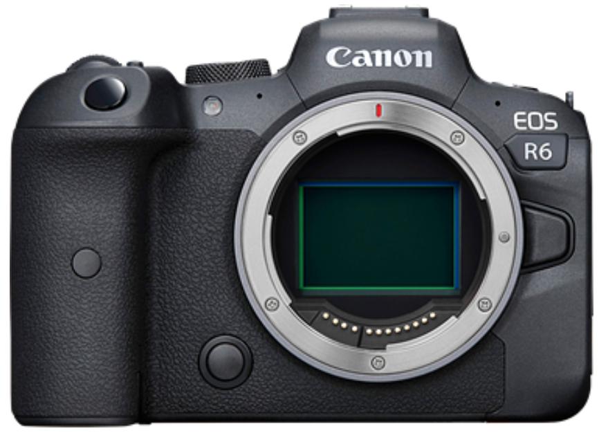 Canon EOS R6 Body (Kit Box) (No Adapter)
