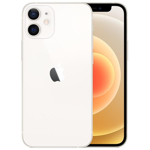 Apple iPhone 12 mini 5G A2399 128GB White (eSIM) + FREE iPhone 12 mini 9H 2.5D Tempered Glass Screen Protector
