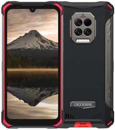 Doogee S86 Pro Dual Sim Rugged Phone 128GB Red (8GB RAM)
