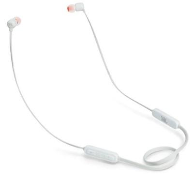 JBL Tune 110BT Wireless In-Ear Headphones (White)