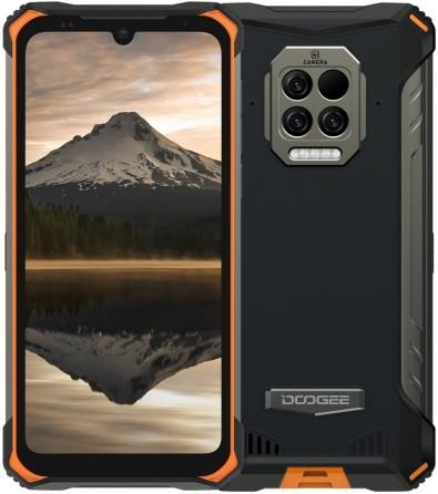 Doogee S86 Pro Dual Sim Rugged Phone 128GB Orange (8GB RAM)