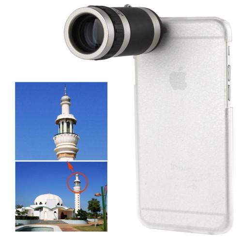 8 X Mobile Phone Telescope for iPhone 6 Plus (White)