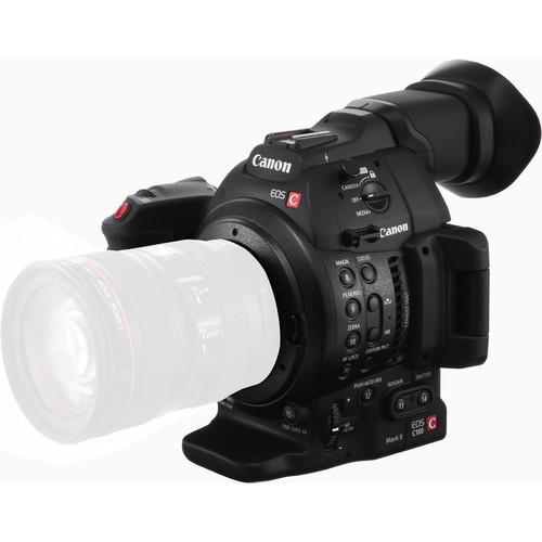 Canon EOS C100 Mark II Cinema Camera Body (EF Mount)