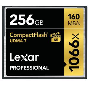 Lexar 256GB Professional 1066x CF (UDMA 7)