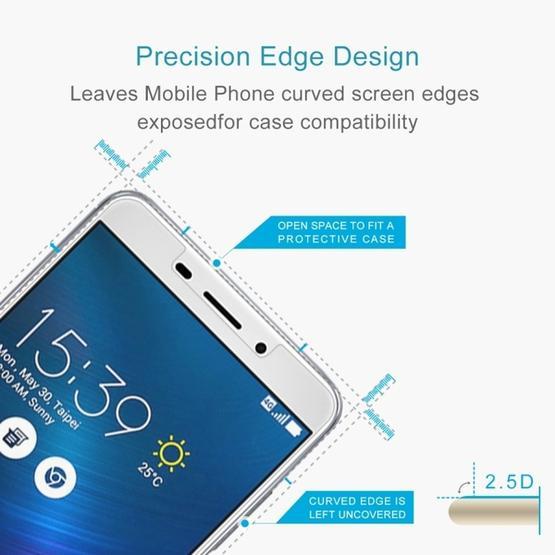 (2 pcs/Set) 0.26mm 9H 2.5D Tempered Glass Film for Asus Zenfone 3 Laser ZC551KL