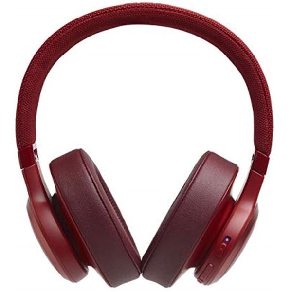 JBL Live 500BT Wireless Headphones (Red)