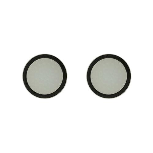 20 PCS Luminous Silicone Protective Cover for PS4 / PS3 / PS2 / XBOX360 / XBOXONE / WIIU Gamepad Joystick (Black)