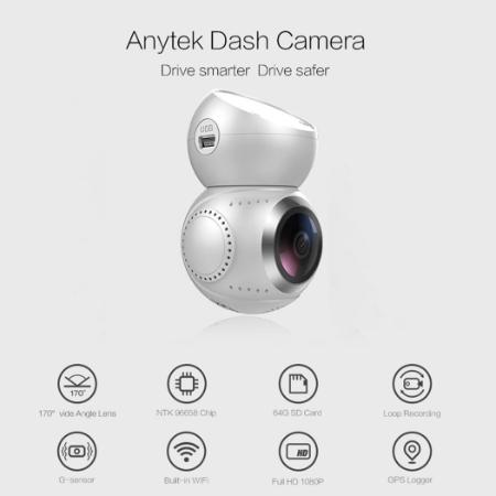 Car DVR - Anytek G21 Camera Car 1080P