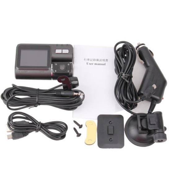 Car DVR - X6 Black High Resolution LTPS LCD Screen 720P