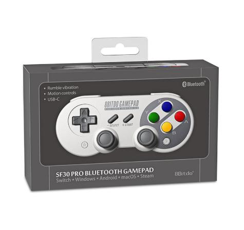 8Bitdo SF30Pro Wireless Bluetooth Gamepad Joystick