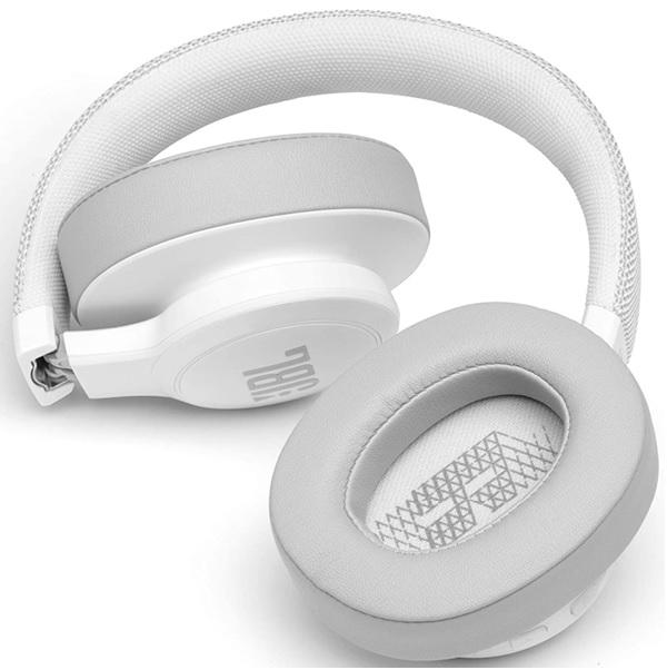 JBL Live 500BT Wireless Headphones (White)