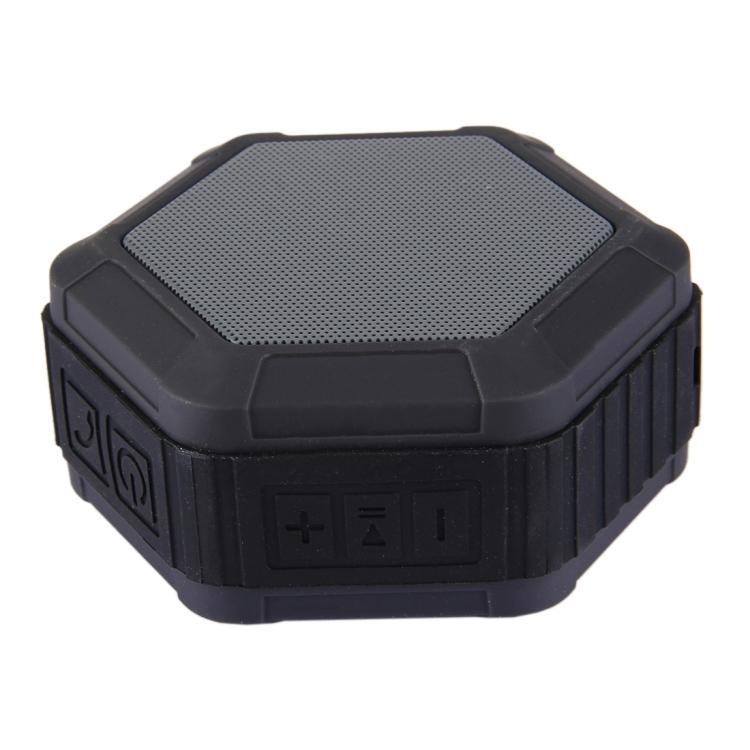 BT508 Portable Life Waterproof Bluetooth Stereo Speaker (Black)