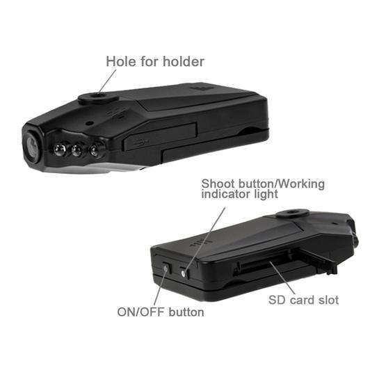 Car DVR - 2.5 inch Screen High Definition